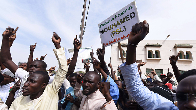 Anti-French protest in Senegal (Photo: AFP)