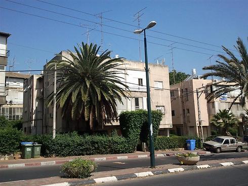 הבניין ברחוב בן גוריון 126 כיום (צילום: ג'ואנה כהן)