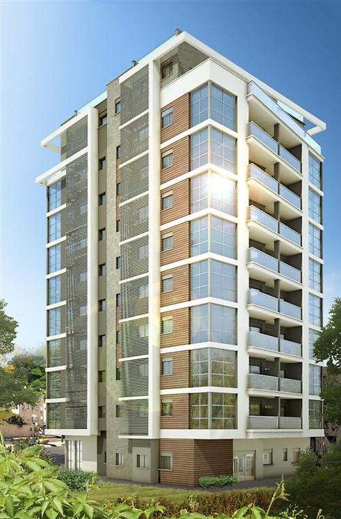 הדמיית הבניין החדש. כל הדירות כבר נמכרו (הדמיה: גריגורי אנסטסייב)