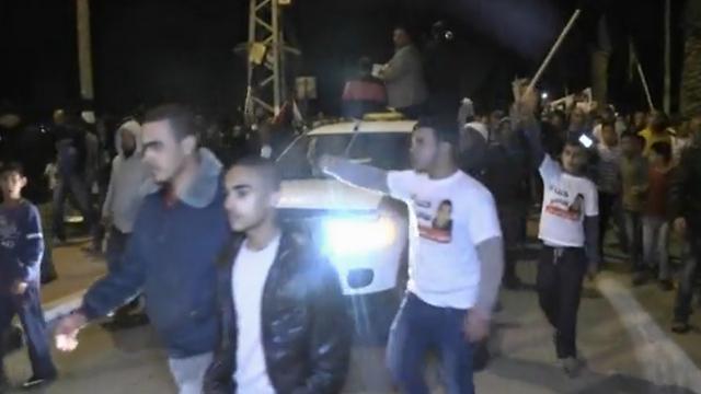 ההלוויה של סאמי אל-ג'עאר (צילום: רועי עידן)