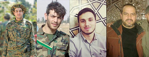 Hezbollah men killed by alleged Israeli attack