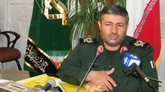 Iranian General Mohammed Ali Allah Dadi - not the intended target.