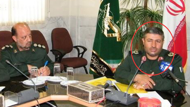 Iranian Brig. Gen. Mohammad Ali Allahdadi