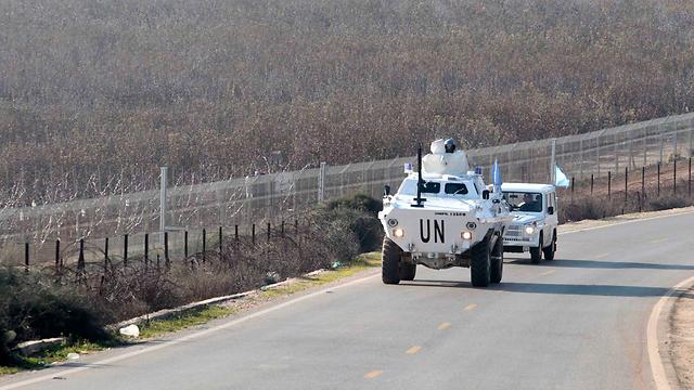 UN forces near border with Lebanon (Photo: Reuters)