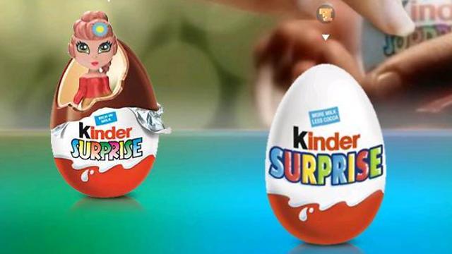 ביצת שוקולד קינדר. השיווק הרשמי שלה בארץ הופסק ב-2007 ()