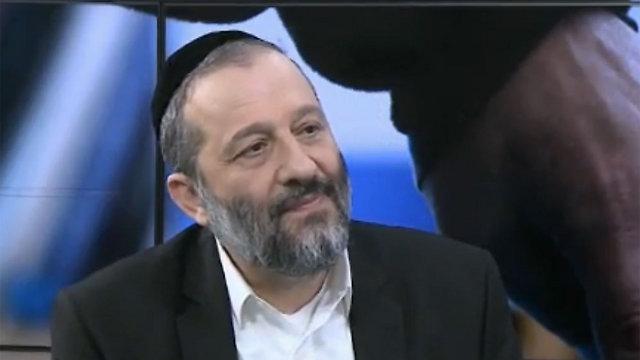 Shas leader Aryeh Deri.