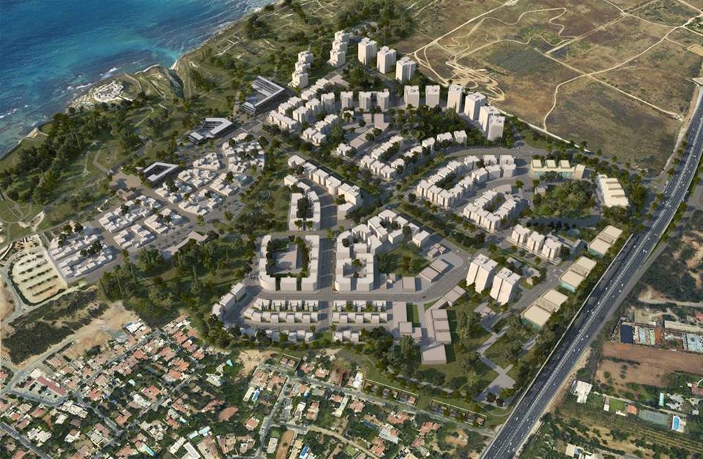 כך ייראה הפרויקט (הדמיה באדיבות רשות מקרקעי ישראל)