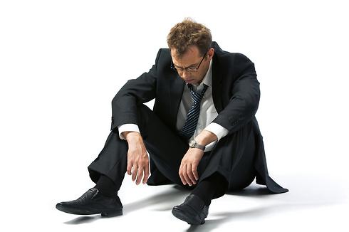 זה בסדר להיות בדיכאון אבל לזמן מוגבל בלבד (צילום: Shutterstock) (צילום: Shutterstock)
