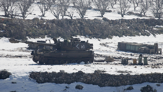 IDF forces on the Golan Heights (Photo: AFP)