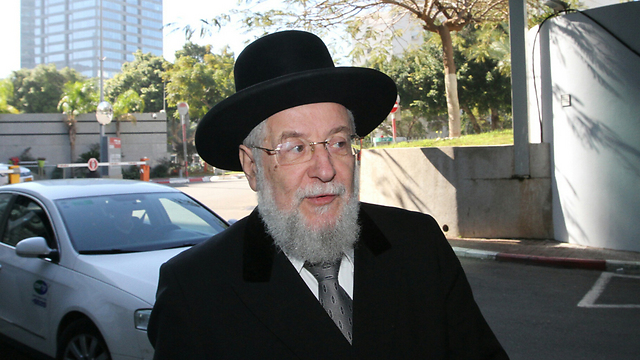 Rabbi Israel Meir Lau (Photo: Ido Erez)