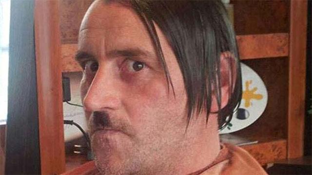Lutz posed as Hitler