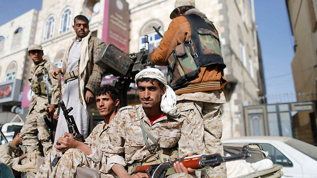 Iran-backed Houthi rebels in Yemen (Photo: Reuters) (Photo: Reuters)