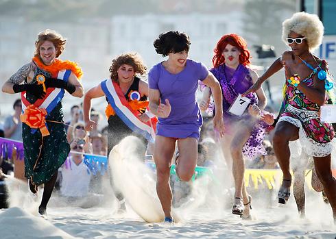 הם עשו את זה קודם. מרוץ דראג באוסטרליה (צילום: רויטרס)