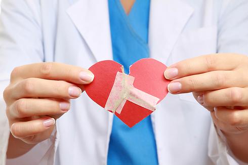 """""""החוקרים מצאו שאין הבדל בין כאב פיזי לכאב הלב שחשים אחרי פרידה"""" (צילום: shutterstock) (צילום: shutterstock)"""
