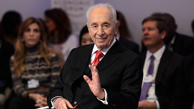 Shimon Peres: My good name is all I have (Photo: AP/Archive)