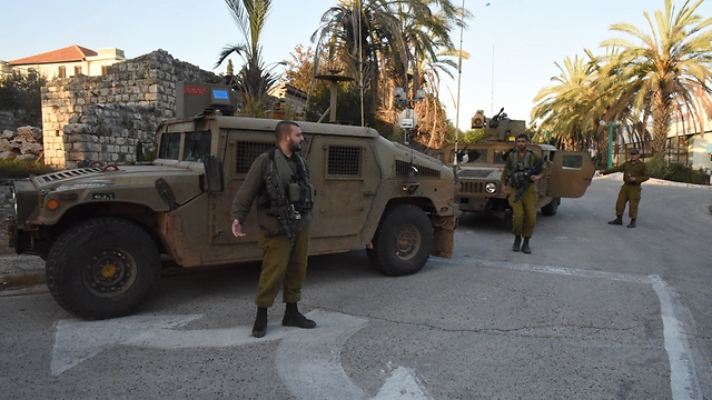 IDF forces in the north on Thursday (Photo: Avihu Shapira)