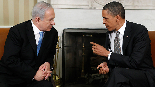 Netanyahu and Obama meet at the White House in previous visit (Photo: Reuters)