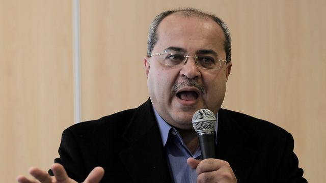 """ח""""כ אחמד טיבי (צילום: AFP) (צילום: AFP)"""