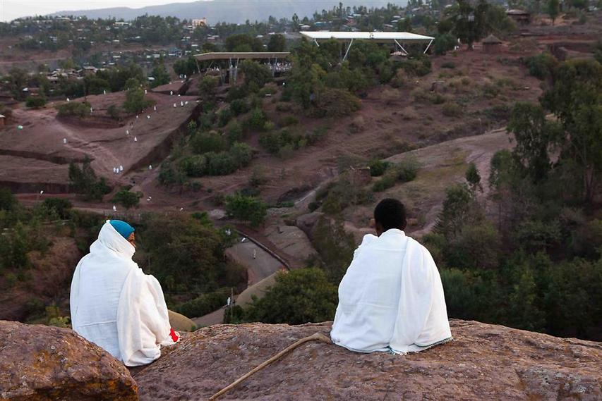 """לליבלה ידועה בכינויה: """"ירושלים החדשה"""". על פי המסורת הקיסר האתיופי לליבלה ראה את ירושלים בחלומו, ולכן בנה ירושלים חדשה (צילום: עמיחי ינקוביץ')"""