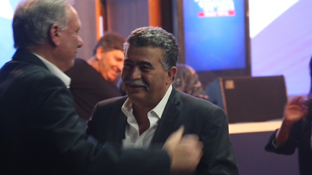 Former defnese minister, Labor leader Amir Peretz (Photo: Motti Kimchi)