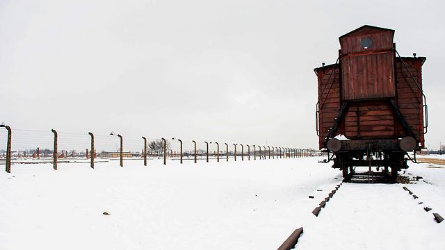 Train track at Auschwitz (Photo: MCT)