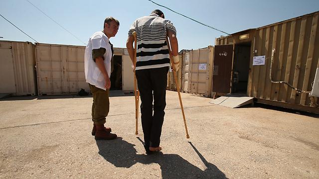 Golan Heights field hospital  (Photo: Elad Gershgoren) (Photo: Elad Gershgoren)