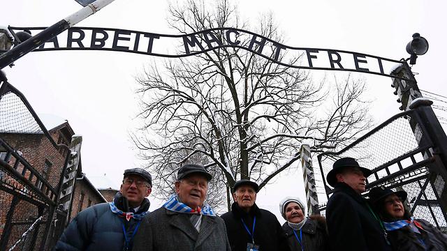 Survivors at Auschwitz (Photo: Reuters)