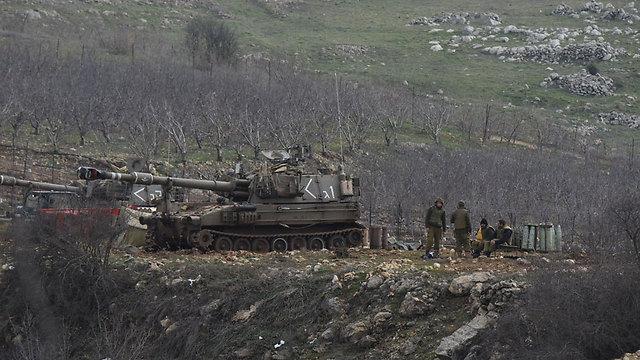 IDF artillery on Golan Heights (Photo: Avihu Shapira)