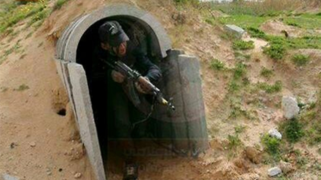 Who fired the rocket? A Hamas training camp in Gaza
