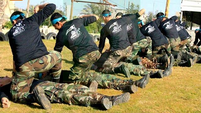 מחנה אימונים ברצועת עזה