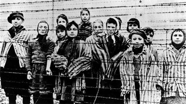 Children at Auschwitz (Photo: AP) (Photo: AP)