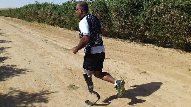 """איציק גבאי. """"אני מעדיף לשים את הפציעה בצד"""" (צילום: FIDF) (צילום: FIDF)"""