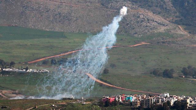IDF responds to fire (Photo: Reuters)