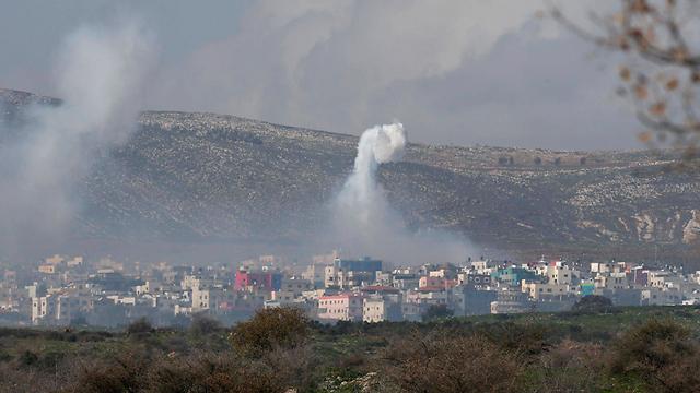 תקיפות בלבנון, היום (צילום: רויטרס) (צילום: רויטרס)