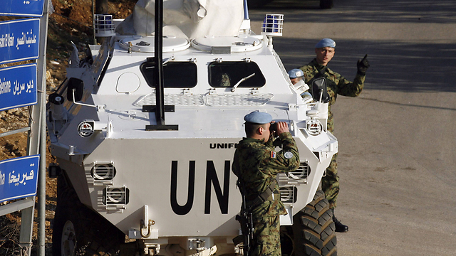 The UN's Lebanon peacekeeping force, UNIFIL (Photo: AFP) (Photo: AFP)