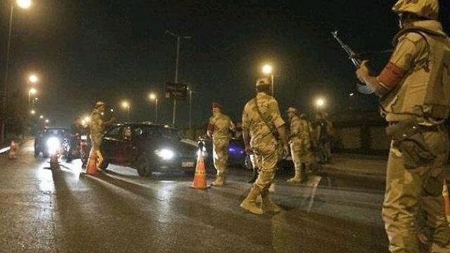 סיני אחרי מתקפתה טרור השבוע ()