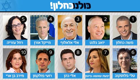 4 נשים בעשירייה. רשימות ישראל ביתנו וכולנו ()