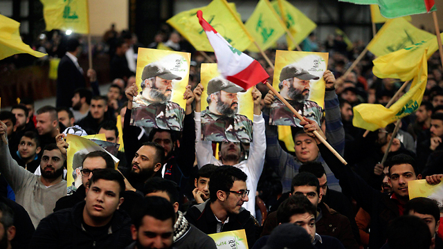 Crowd awaits speech by Hezbollah leader Hassan Nasrallah. (Photo: Reuters)
