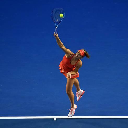שראפובה בפעולה, זוכרים? (צילום: AFP) (צילום: AFP)
