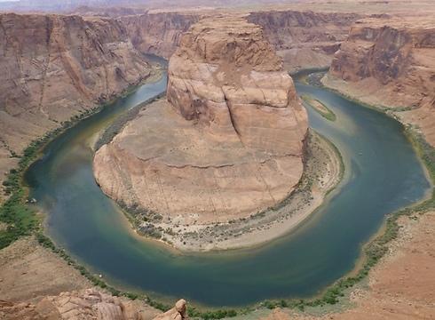 סיבוב הפרסה באגם פאוול (צילום: סיגלית בר)