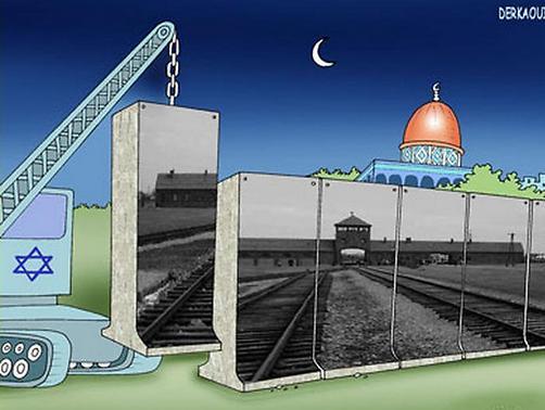 אושוויץ על החומה. האיור המנצח ב-2006
