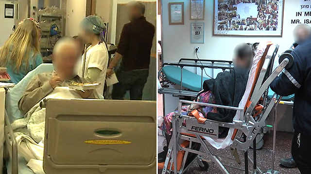 Patients in the corridors. Israel's overcrowded hospitals.