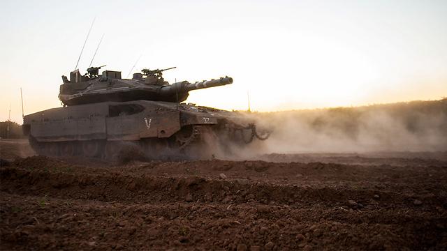 """טנק מרכבה סימן 4 (ארכיון) (צילום: דובר צה""""ל) (צילום: דובר צה"""