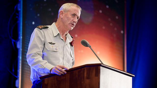 Chief of Staff Benny Gantz (Photo: IDF Spokesman's Unit)