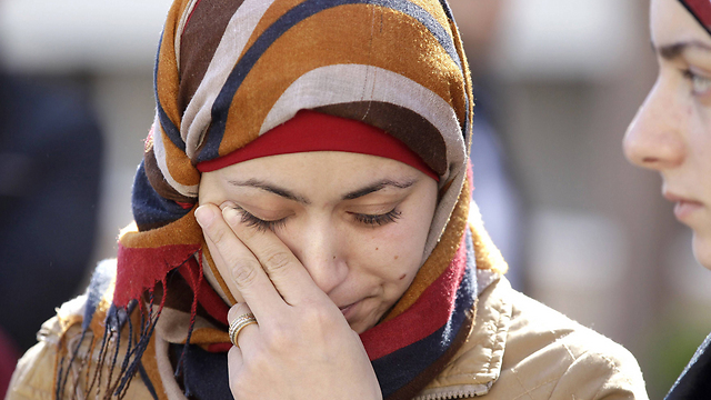 Jordanian pilot's wife. (Photo: AFP)