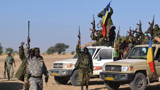 חיים בצבא צ'אד  (צילום: AFP) (צילום: AFP)