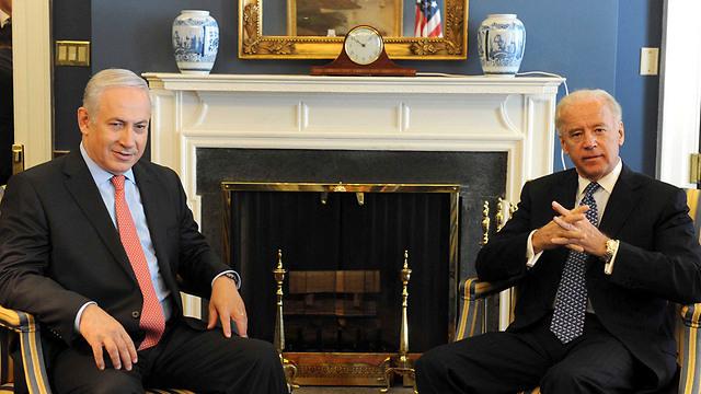 Netanyahu and Biden meet in Washington in 2011 (Photo: GPO) (Photo: Avi Ohayon/GPO)