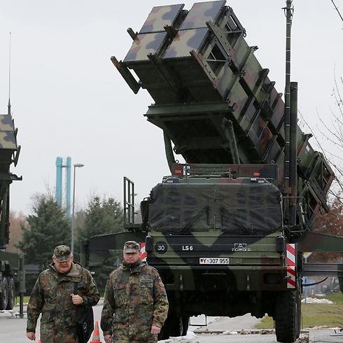 הטורקים רוצים יותר עצמאות. סוללת טילי פטריוט בגרמניה (צילום: AFP) (צילום: AFP)