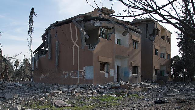 אזור התקיפה בסוריה שבה נהרגה מולר ()