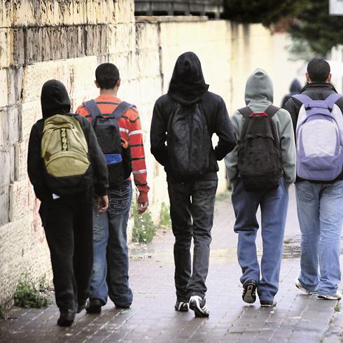 Арабские школьники. Фото: Ави Муалем